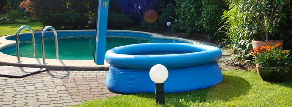 Flexipools aus robuster schnittfester poolfolie for Gewebefolie pool