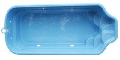 Gfk becken polyester becken vom pool fachmann for Pool aus plastik