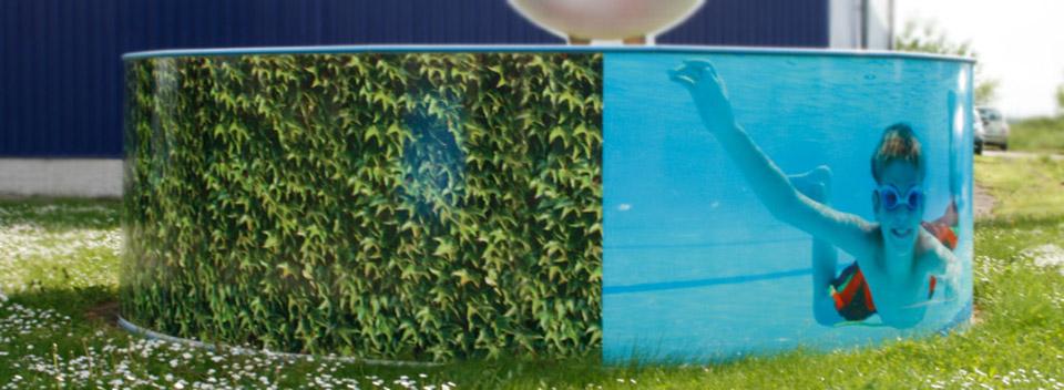 poolbeschitungen pool bekleben selbstklebefolie